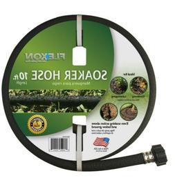 10 ft black soaker hose for gardens