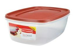 2.5 Gallom Easy Find Lid Food Rectangular Storage Container