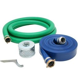 Abbott Rubber 2-inch Water Trash Pump Hose Kit Made in the U