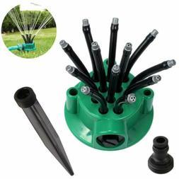 360 Degre Garden Sprinkler Lawn Watering System Water Hose S