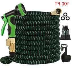 4X Stronger Heavy Duty Expandable Garden Hose Flexible 4-Lay