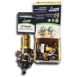5/8 in. Metal Lawn Garden Hose Repair Stainless Steel Clamp