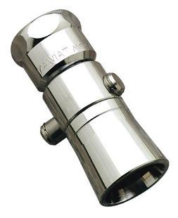 Waxman 7650500B Bullet Shower Head with Pause, Chrome