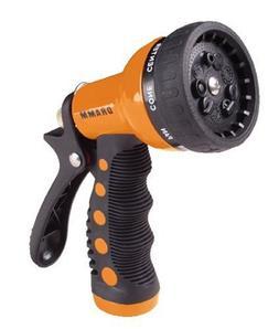 9 Pattern Revolver Spray Gun Nozzle - Color: Orange