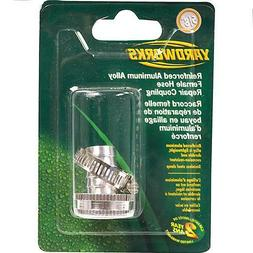 "Aluminum Alloy 5/8"" Garden Water Hose Repair Kit - male & fe"
