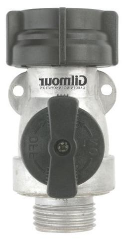 Gilmour AS1FFM Single Shut Off Valve Aluminum Connector