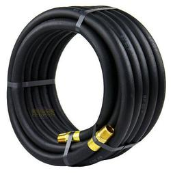 Goodyear Black Rubber Air Hose - 1/2in. x 25ft., 250 PSI, Mo