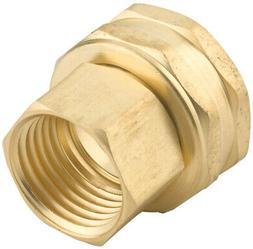 Gilmour 7FPS7FH 3/4 X 3/4 Brass Connector
