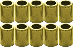 """Brass Ferrule 10 Pack for Air & Water Hoses #7329 3/8"""" ID/.6"""