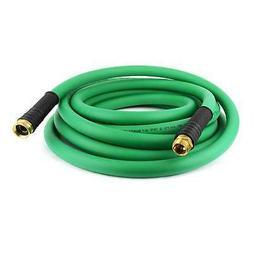 "Contractor Grade Green PVC Water Hose 3/4"" x 25 Ft. w/ Machi"