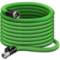 Deluxe Blue 75 Ft Expandable Flexible Garden Water Hose with