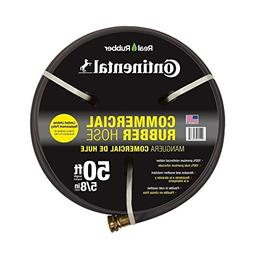 Premium 5/8 in. Dia x 50 ft. Commercial Grade Rubber Black W