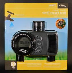 Orbit Digital Duel Hose Sprinkler Irrigation Timer Vacation