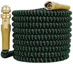expandable garden hose 50 feet heavy duty