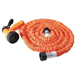25FT Expandalble Garden Hose Water Pipe with 7 Modes Spray G