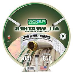 Flexon FAW58150 All Weather Rubber & Vinyl Hose, 150-Feet