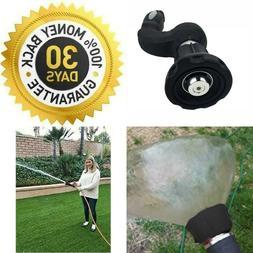 FIREMAN Style Garden Hose Adjustable SPRAY NOZZLE PRESSURE T