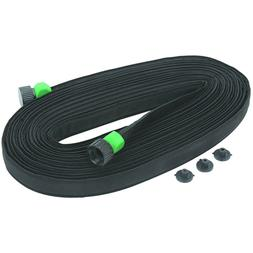 1 Heavy Duty Flat Garden Soaker Water Hose 50 FT