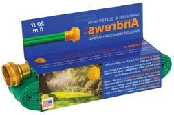 A.M. Andrews 7012350 2-in-1 Flexible Sprinkler and Soaker Ho
