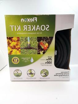 FLEXON Soaker Kit 100-ft Medium-Duty Black Soaker Hose