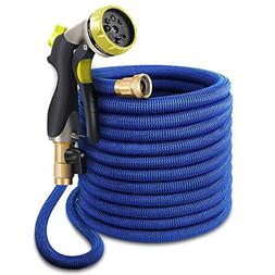 100ft Garden Hose, Upgraded Expandable Water Hose, Flexible