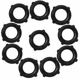 Garden Hose Washers Pack of 10. Made From Heavy Duty Rubber.