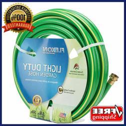 FLEXON Garden Water Hose 5/8-in X 50-ft Light Duty Green Wea