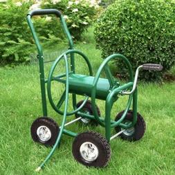 Hose Reel Cart 300' Garden Water Outdoor Heavy Duty Yard Pla