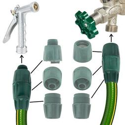 6pc Hoselink Garden Water Hose Coupler Kit Quick Assembly 5/