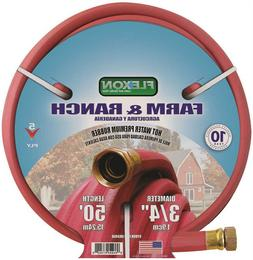 hot water rubber hose 3 4 in