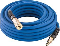 """Hybrid Rubber PVC Air Hose 1/4"""" x 50 Ft Air Compressor Pneum"""