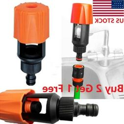 Kitchen Mixer Tap To Garden Hose Pipe Connector Adapter Univ