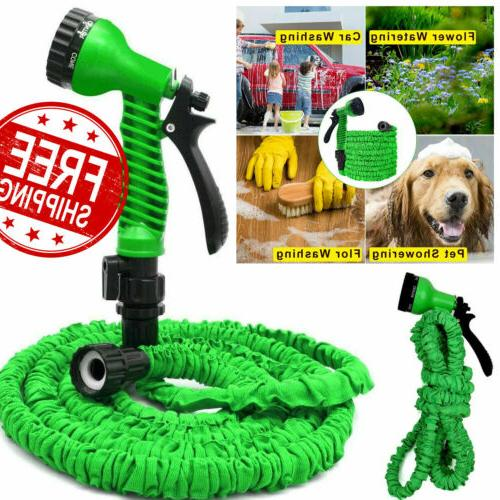 100 Feet 100FT Expandable Flexible Garden Water Hose with Sp