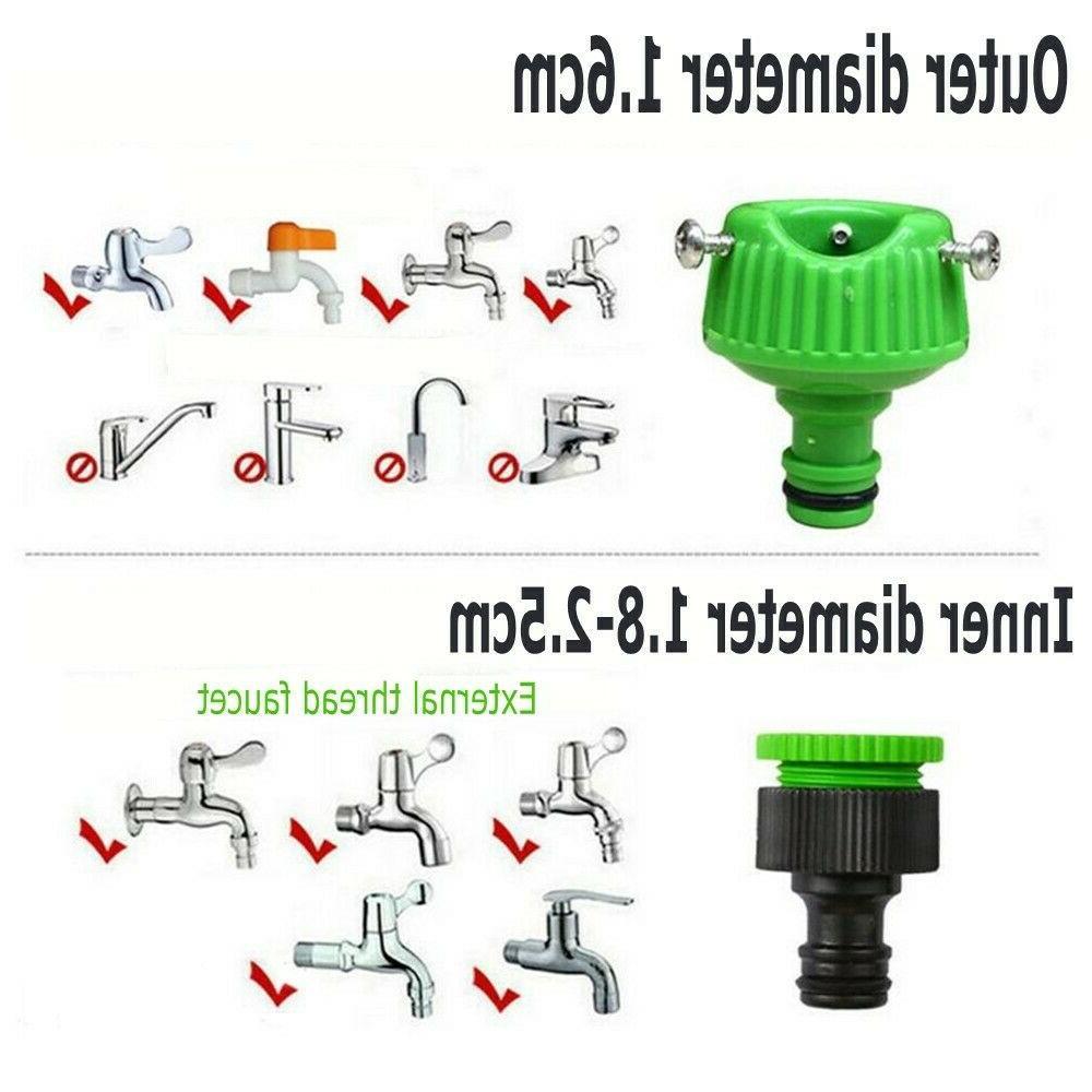 100FT Spray Flexible Car Hose w/ Spray
