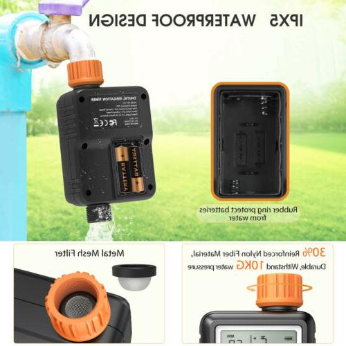 "3"" Large Irrigation Digital for Garden Faucet"