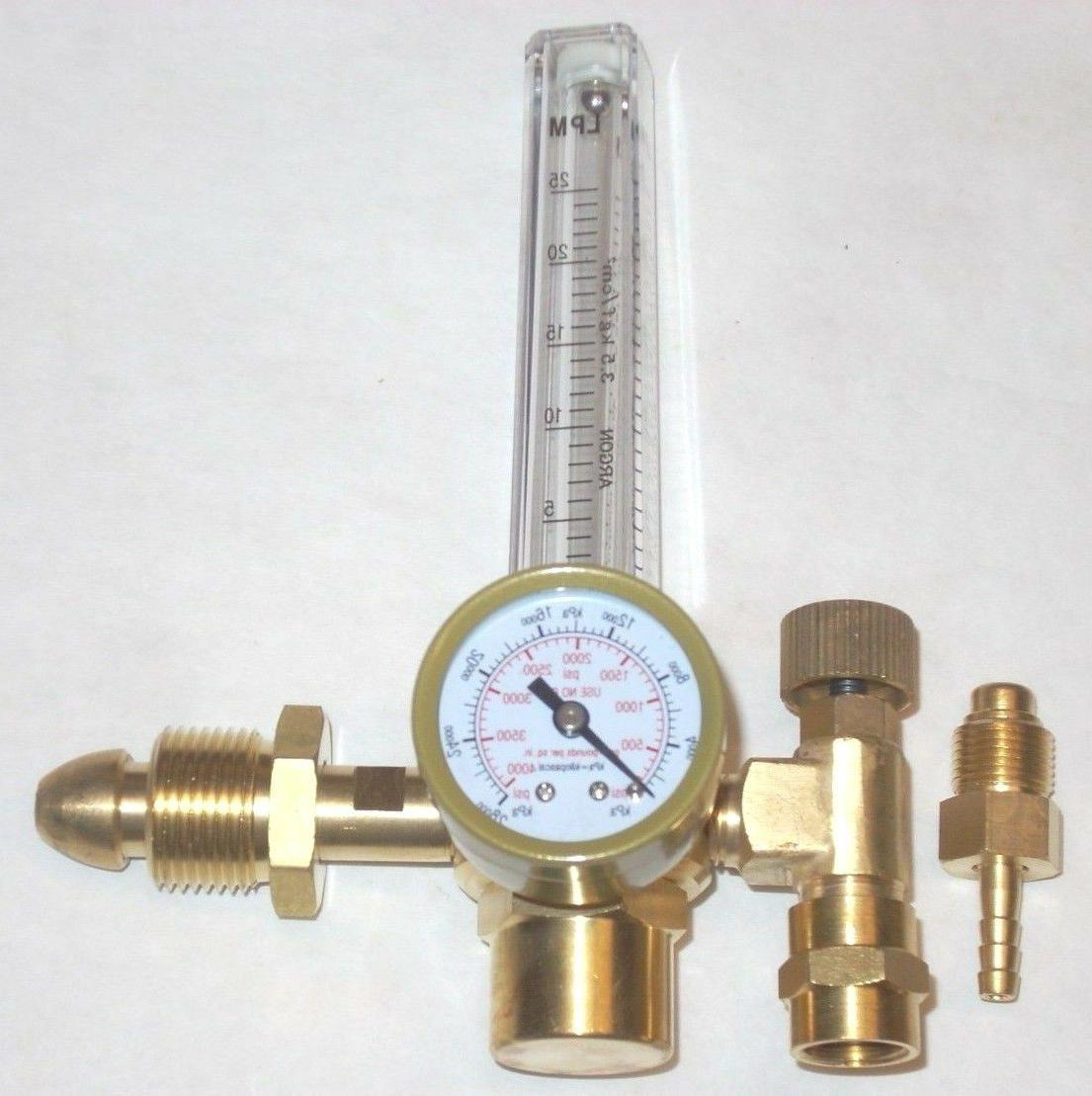 Argon Flowmeter Welding Regulator Gas Hose