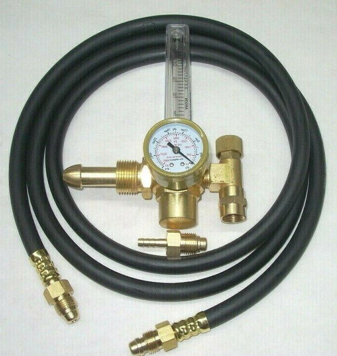 argon or argon co2 mix flowmeter mig