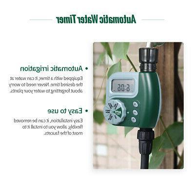 Automatic Water Outdoor Garden 1-Outlet Controller Hose Faucet