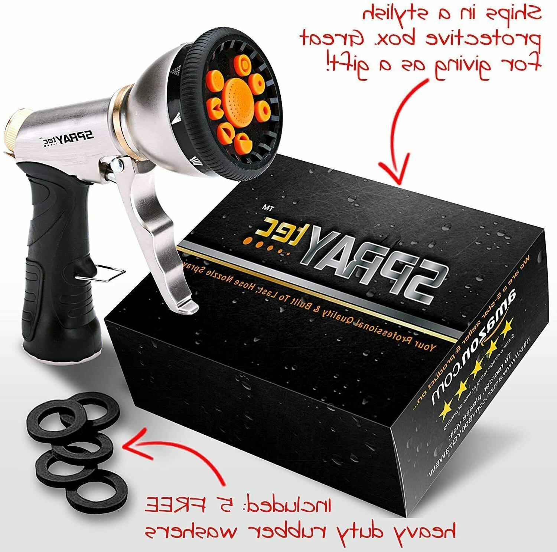 best heavy duty metal hose nozzle sprayer