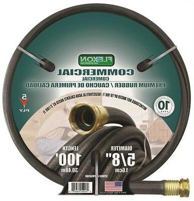 Commercial Premium Rubber Hose 5/8 In. X 75 Ft.