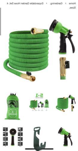 expandable garden hose set heavy duty