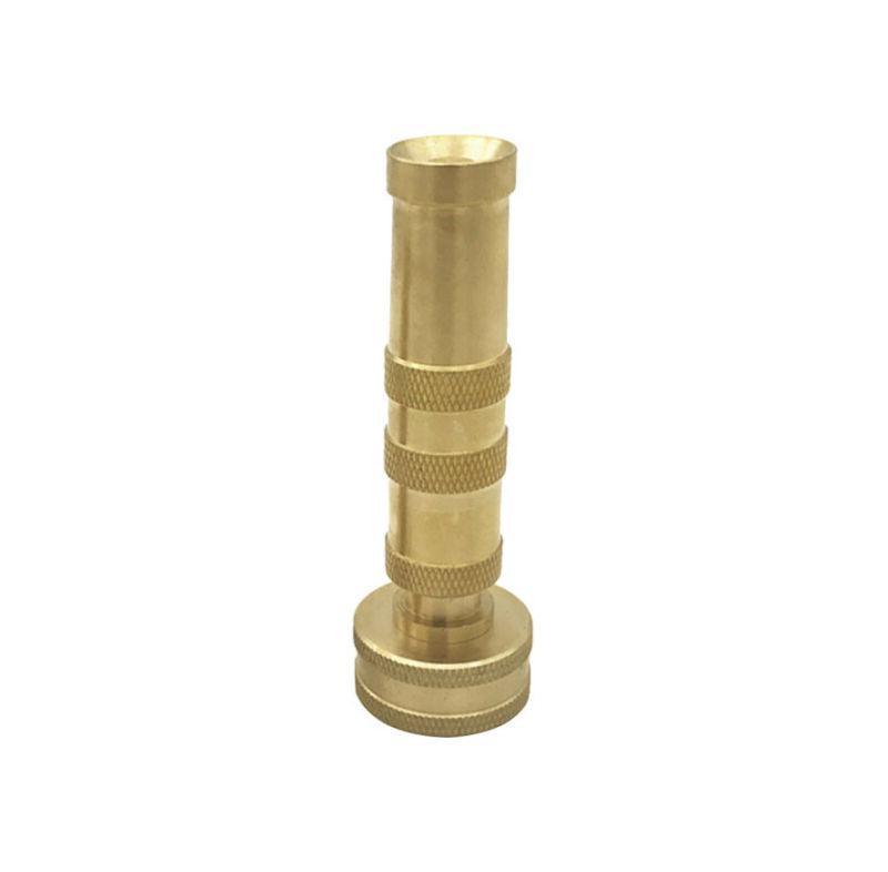 Solid Garden Spray Nozzle Adjustable Twist Water Hose S