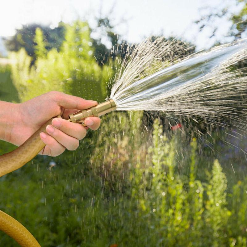 Solid Garden Nozzle Adjustable Water Hose USA S