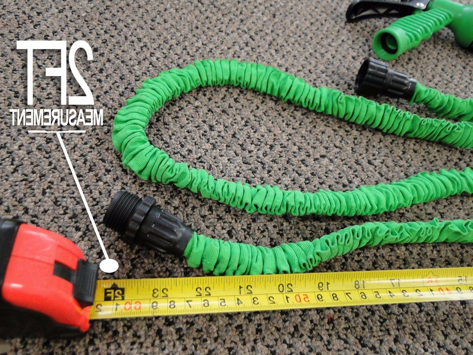 Latex 75 100 Garden Hose with Spray Nozzle