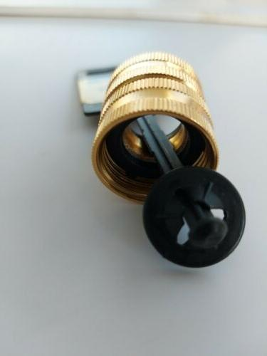 Metal Double Adapter to Connect threaded pipe water or Water Pump