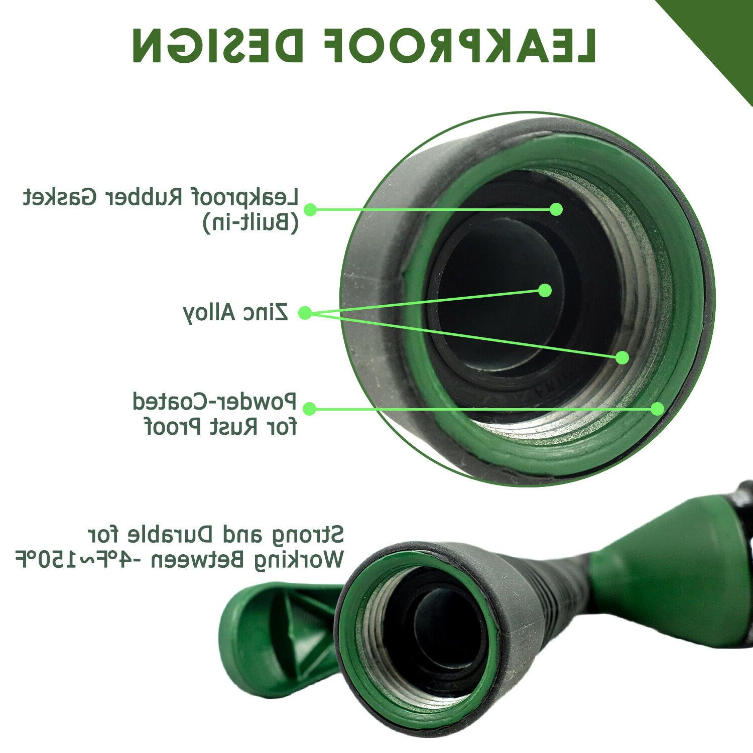 H2O WORKS Hose Nozzle with Adjustable Watering Patterns
