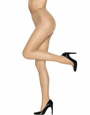 pantyhose alive full support control top reinforced