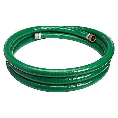 "Apache 98128010 1-1/2"" x 20' PVC Style G  Suction Hose  with"