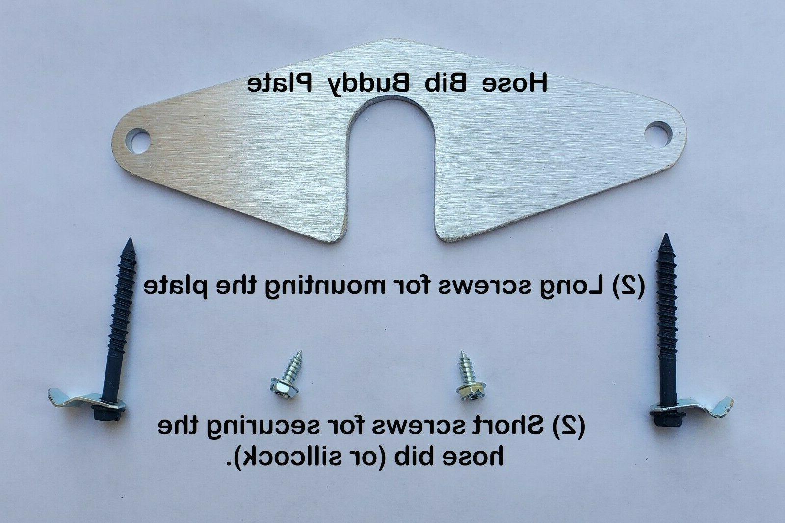 Sillcock Repair plate GARDEN Flange HOSE PLUMBING