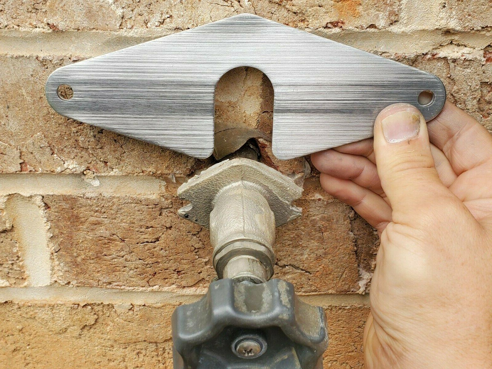 sillcock spigot loose repair plate garden faucet